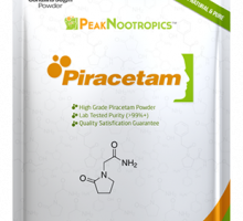 Piracetam by Peak Nootropics