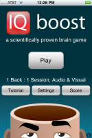 IQ boost (iPhone App)